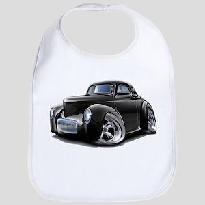 1941 Willys Black Car Bib