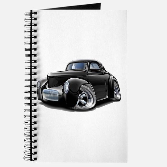 1941 Willys Black Car Journal