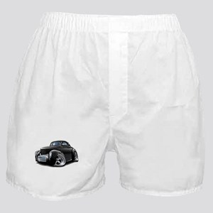 1941 Willys Black Car Boxer Shorts
