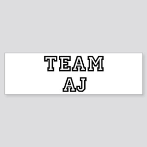 Team Aj Bumper Sticker