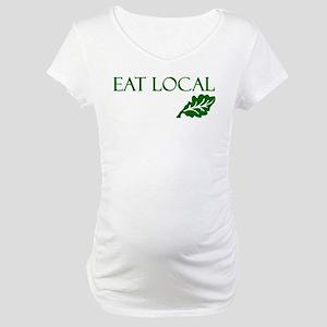 Eat Local Maternity T-Shirt
