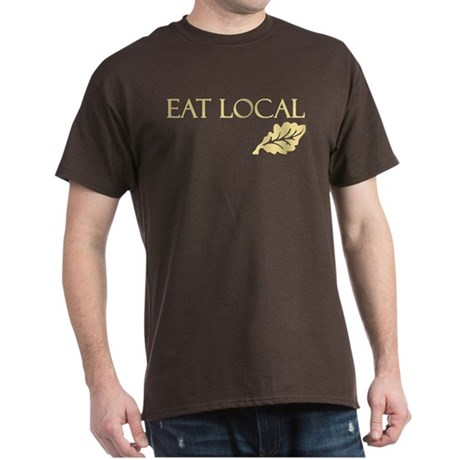 Eat Local Dark T-Shirt