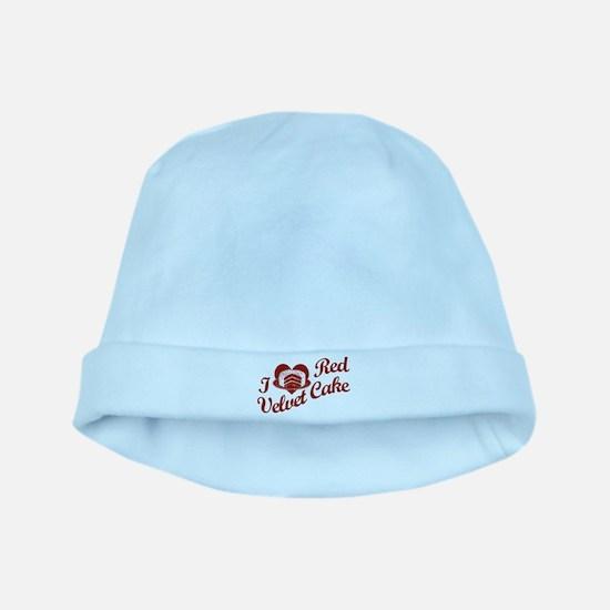 I Love Red Velvet Cake baby hat