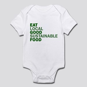Eat Good Food Infant Bodysuit