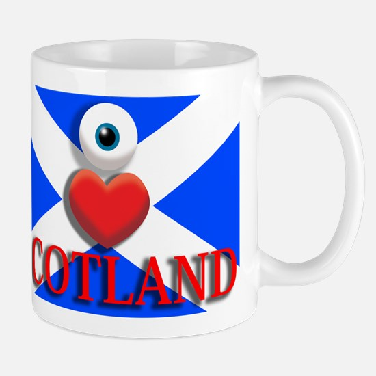 I Love Scotland Mug
