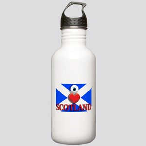 I Love Scotland Stainless Water Bottle 1.0L
