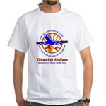 TakaWhip Airlines White T-Shirt