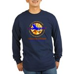 TakaWhip Airlines Long Sleeve Dark T-Shirt