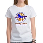 TakaWhip Airlines Women's T-Shirt