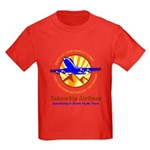 TakaWhip Airlines Kids Dark T-Shirt