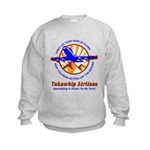 TakaWhip Airlines Kids Sweatshirt
