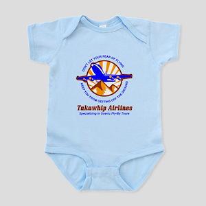TakaWhip Airlines Infant Bodysuit