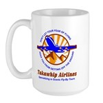 TakaWhip Airlines Large Mug