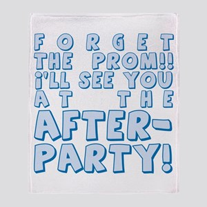 Forget Prom/After Party Throw Blanket