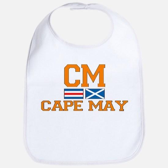 Cape May NJ - Nautical Design Bib