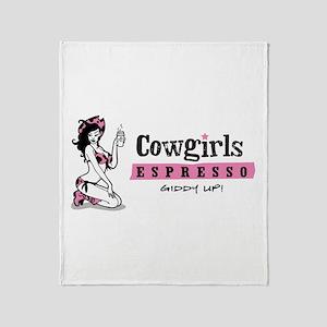 Cowgirls Throw Blanket