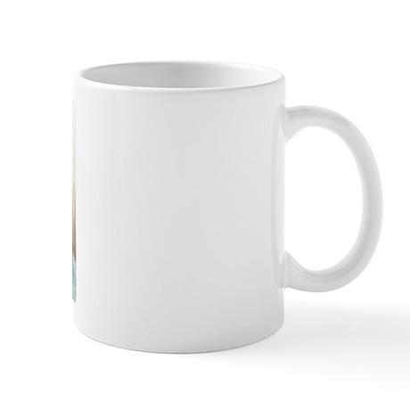 Pug Puppy Head Up Mug