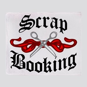 Hip Scrapbooking Throw Blanket