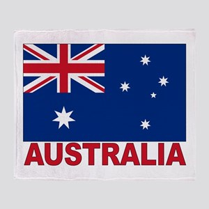 Australia Flag Throw Blanket