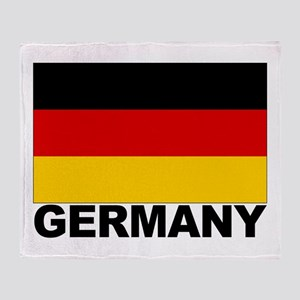Germany Flag Throw Blanket