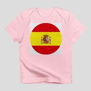 Spain Flag Infant T-Shirt