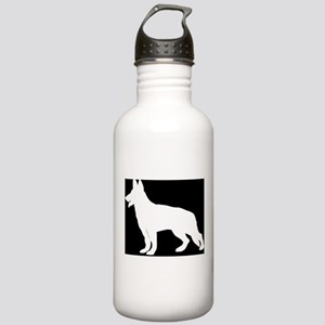 White German Shepherd Stainless Water Bottle 1.0L