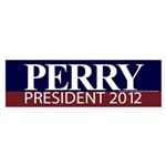 Perry for President Sticker (Bumper)