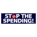 Stop the Spending Sticker (Bumper)