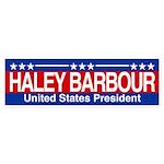 Barbour for President Sticker