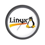 Linux Logo Wall Clock