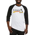 Linux Logo Baseball Jersey