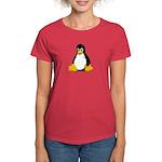 Tux the Penguin Women's Dark T-Shirt