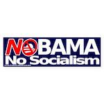 NObama, No Socialism bumper sticker