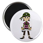 "Little Bandana Pirate 2.25"" Magnet (10 pack)"