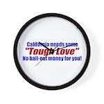 Cal Tough Love Wall Clock