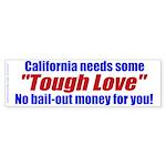 Cal Tough Love (Bumper Sticker 10 pk)