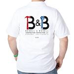 B & B Construction Polo Golf Shirt