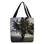 Tree Polyester Tote Bag
