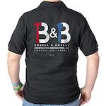 B & B Construction Dark Polo Shirt