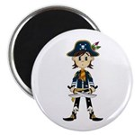 Little Pirate Captain Magnet