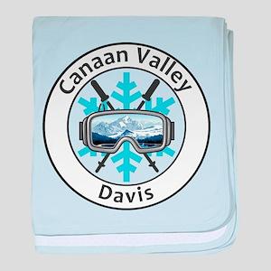 Canaan Valley Resort - Davis - West baby blanket