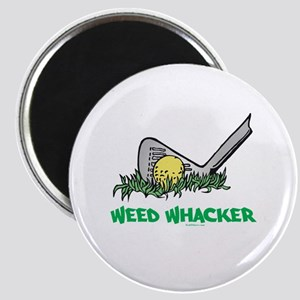 Weed Whacker Sports Magnet