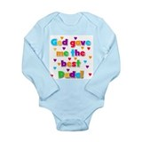 Daddy dad father Long Sleeves Bodysuits