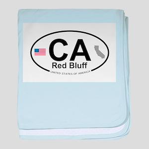 Red Bluff baby blanket