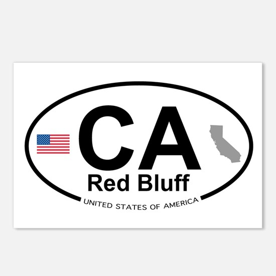 Red Bluff Postcards (Package of 8)