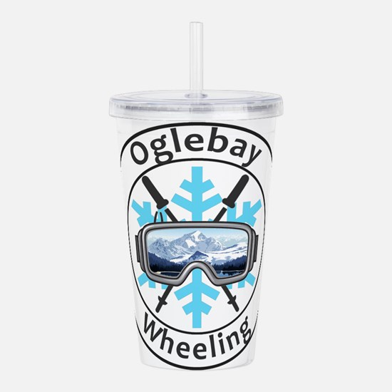 Oglebay Resort - Whe Acrylic Double-wall Tumbler