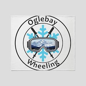 Oglebay Resort - Wheeling - West V Throw Blanket