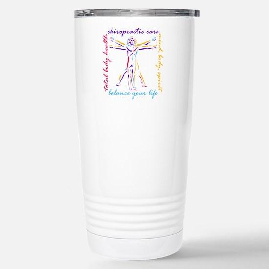 Chiro Balance Stainless Steel Travel Mug