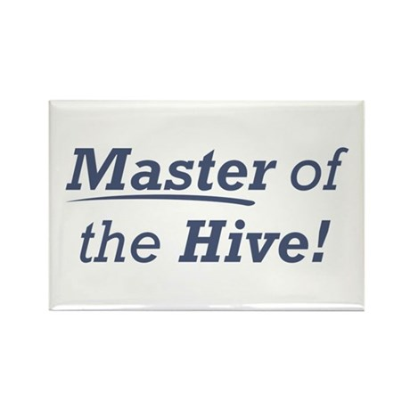 Master of the Hive Rectangle Magnet (10 pack)
