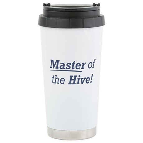 Master of the Hive Stainless Steel Travel Mug